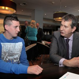 Martin Fitzpatrick meets with Health Minister Edwin Poots