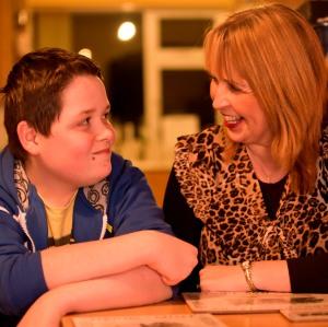 Majella McKenna and her son Caolan
