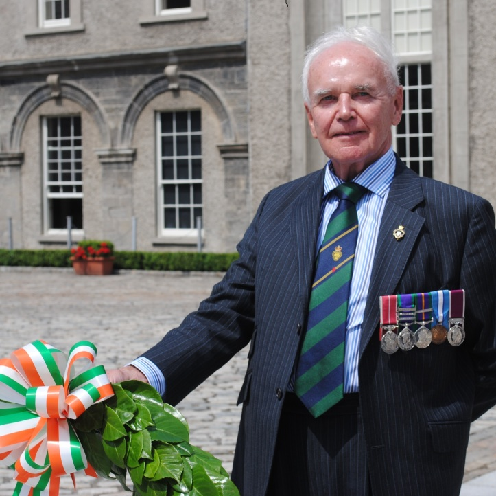 Sean Murphy at the Irish Government's National Day of Commemoration in 2013
