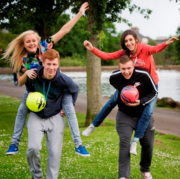 Young people in north Belfast are gaining new skills thanks to Awards for All