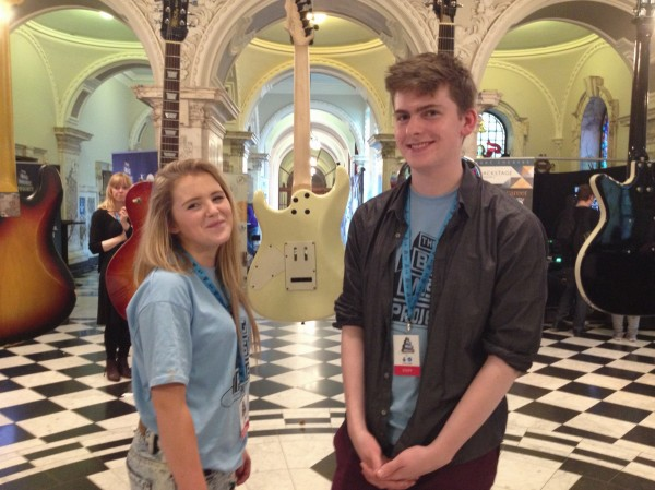 Cliodagh and Aiden from Youth Action