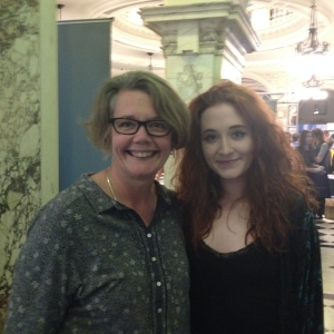 Joanne McDowell, Big Lottery Fund NI Director, and X Factor alumni Janet Devlin