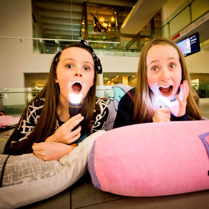 Tamzin Glenn and Hollie Rainey from Springhill Primary School