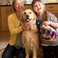 The whole Barker family have had their lives transformed by a dog from ADNI named Honey.