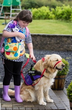 Assistance Dogs Northern Ireland received £697,825 for the five-year Supporting Children, Supporting Families project.