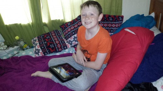 """""""Nowadays children without disability use technology for education, entertainment and to socialise."""""""