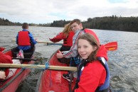 The canoeing was great it was traveling to the island and having a destination, it felt so good to be in control and work as a team and to move together. Boy aged 16 who has a parent diagnosed with cancer.