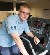 """Kealan is now a personal trainer and volunteers with the BBHF. """"I love the fact that I volunteer on the men's health programme now because I can relate to those men because I was once in their shoes. """""""