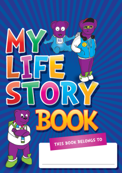 They also produced their own 'Life Story' books to go alongside the published book.