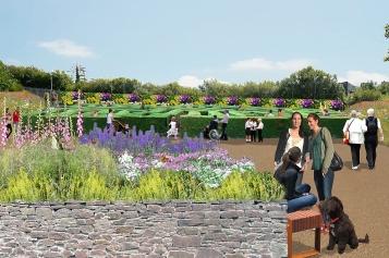 Flowers of Foyle, Creggan, Derry/Londonderry. Vote: 0808 228 7702
