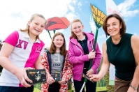 The Garden Show in Castle Gardens Antrim with Stephanie Baine, Grow Wild NI.