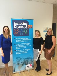 Ligia Piarizzi launched the Including Diversity CIC Bilingual Advocacy project a few weeks ago.