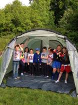 beavers at camp
