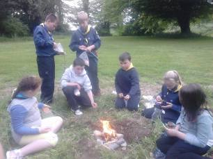 campfire cooking cubs