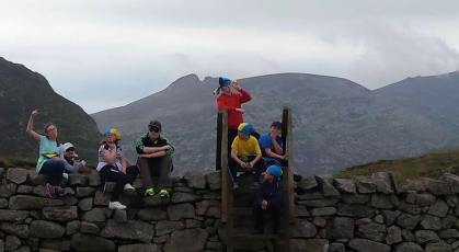 scouts in mournes