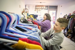 Samantha volunteers at Attention to Detail, ADDNI's charity shop regularly to build up experience for future employment.