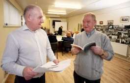 After a while more old friends and neighbours started getting together and they came up with the idea of establishing a formal, constituted senior men's group. They got in touch with Volunteer Now who helped them to get formally constituted in 2006. Since then, they have produced four books on the people of Sailortown, each a treasure trove of evocative old photos, documents and stories. The series is called Echoes of the Past.