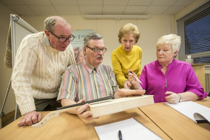 """Paul said: """"John comes to our friendship groups regularly and is very involved in many aspects of Cruse. He is still the same shy character, but he challenges himself now. On the advisory group he and the other members are coming up with ideas for our next project. We can't wait to see what he'll accomplish this year."""""""