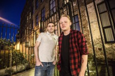 Just over a year ago he moved into Flax Foyer in north Belfast, which is temporary affordable accommodation for young people who are homeless. It has a Bytes Centre which offers mentoring and training in house three days a week. L-R kevin McGuckin and Anthony.