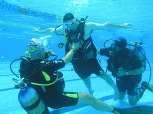 Scuba diving is being used as a therapeutic tool