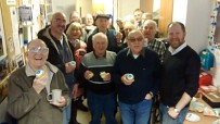 Michael and Deirdre visit North Belfast Men's Shed