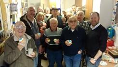Michael and Deirdre visit North Belfast Men's Shed