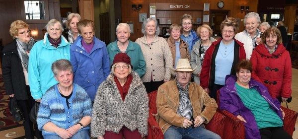 Earlier in May the members took part in a Mystery Tour and ended the day with a meal in a local hotel