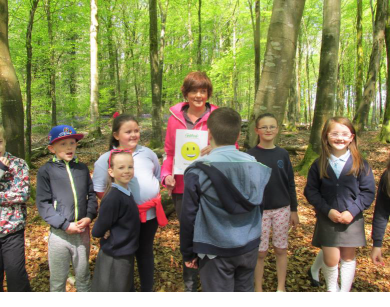 Garvagh Development Trust create a forest school #A4ANI Funded