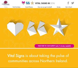 a screenshot of the vital signs website.