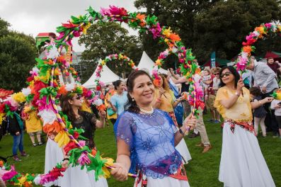 We awarded £4,900 to Arts Ekta for part of Belfast Mela