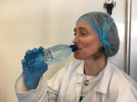 Olivia Cosgrove taste tests Clearer Water