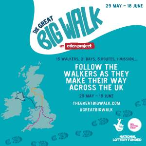 The Great Big Walk shines a light on Acceptable Enterprises in Larne