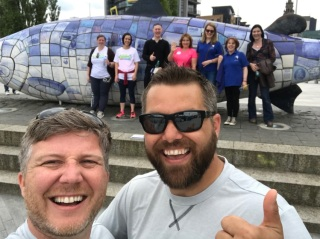 The Big Walk visited some amazing projects in NI this week
