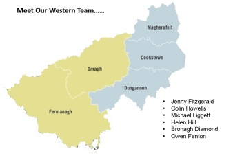 Meet our team working in the western area